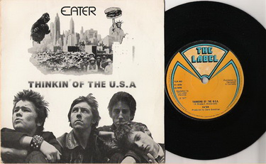 Eater - Thinking of the U.S.A. (The Lable TLR003, June 1977)