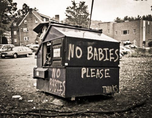 No babies allowed