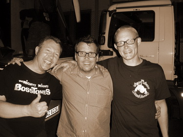 Frosch, Dicky and Grat - Vienna Sep 2011
