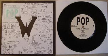 Guns'n'Wankers - POP EP (Rugger Bugger Dump 020, 1994)