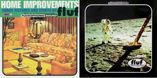 fluf - Home Improvements (CD) / Whitey on the moon (LP) (Headhunter HED032, 1994)