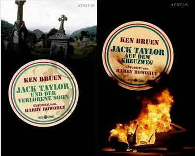 Ken Bruen - Jack Taylor und der verlorene Sohn / Jack Taylor auf dem Kreuzweg (Atrium Verlag 2011)