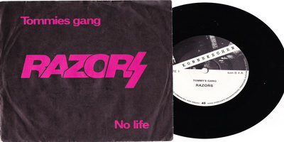 Razors - Tommies gang (Konnekschen KON S4, 1981)