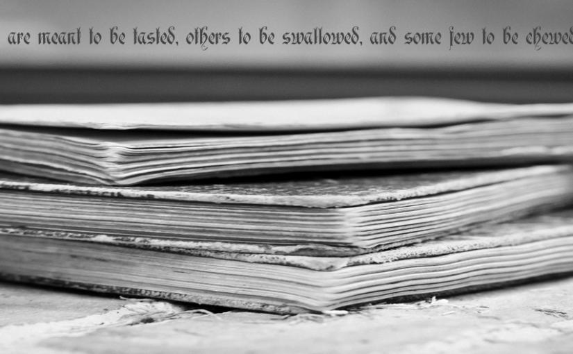Bücher, schnell gelesen: Teil 1.418