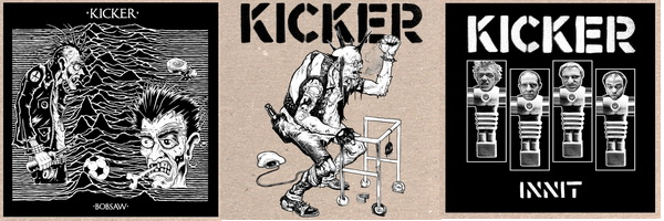 Kicker (US) - First 3 EP's (Var. Lables)