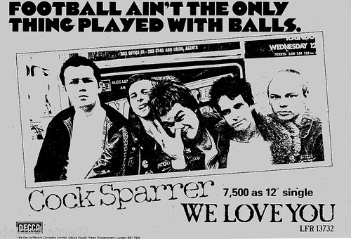 Cock Sparrer (1976)