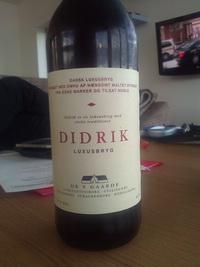 DIDRIK øl (de5gaade, 2012)