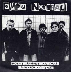 """Eppu Normaali - Poliisi pamputtaa taas 7"""" (Poko Rekords PIS-002, 1978)"""