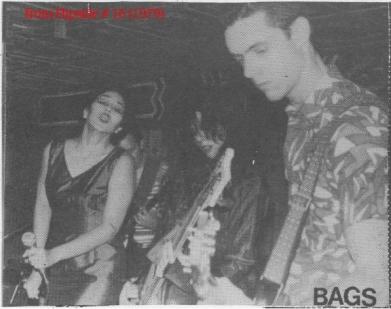 The Bags (LA, 1979 (c) Flipside Fanzine)