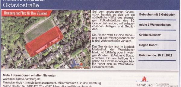 Scan: Imobilienanzeigen Hamburger Abendblatt 06.10.2012