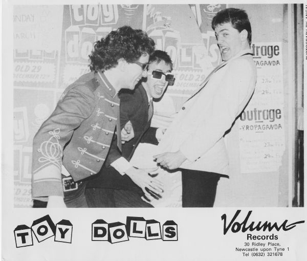 Toy Dolls Promo Picture ( (c) Volume Records / Agal - from the Holy War Archive Vault)