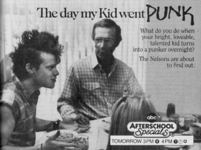 The day my kid went punk ( (c) ABC Inc.)