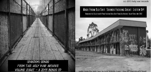 Songs from the Holy War Archive Volume Eight