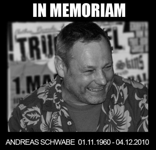 In memoriam Andreas Schwabe