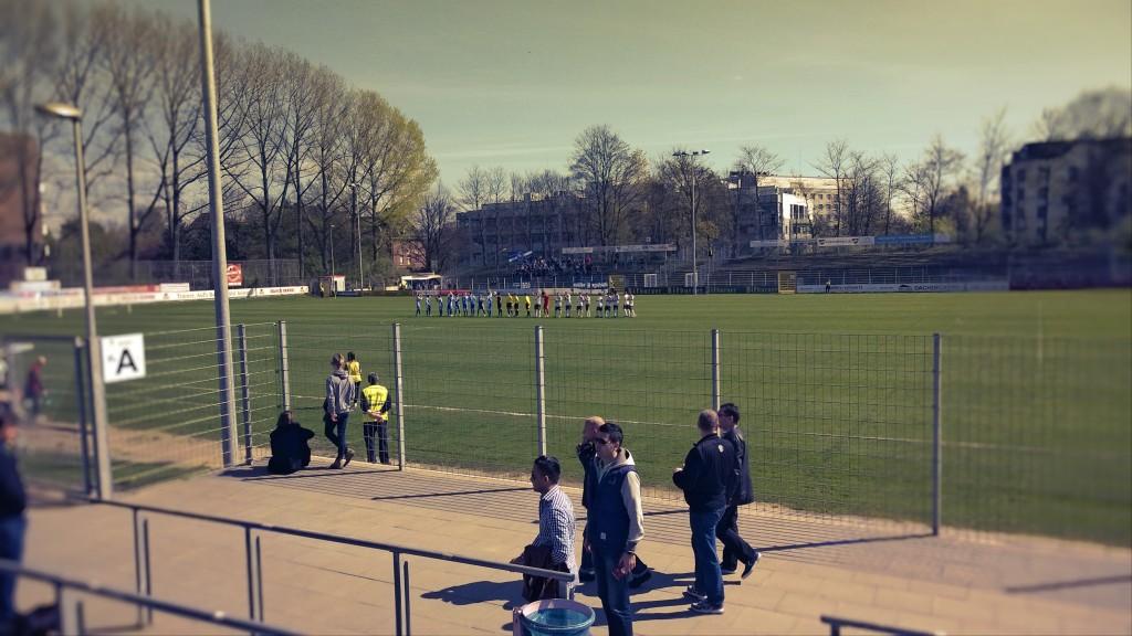 Victoria Stadion, 12.04.2014 14:11 ((c) gehkacken.de)