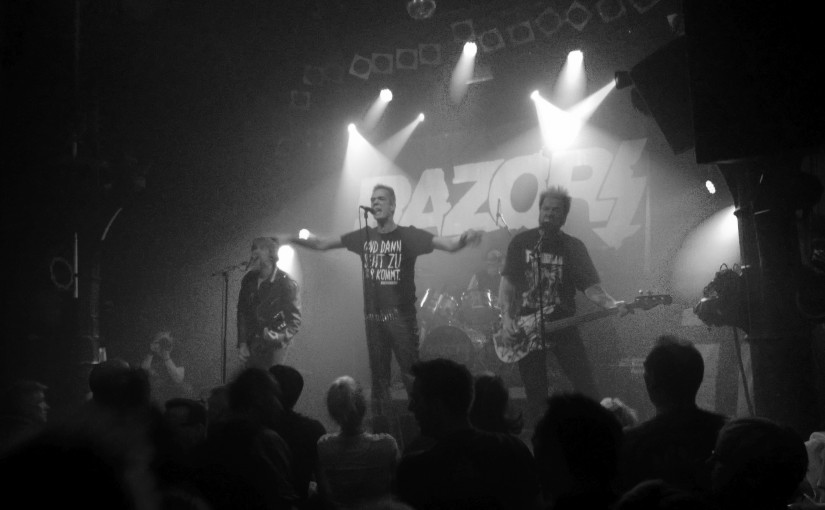 … 1977 'till 2015: Hamburgs own Razors on Punk Rock