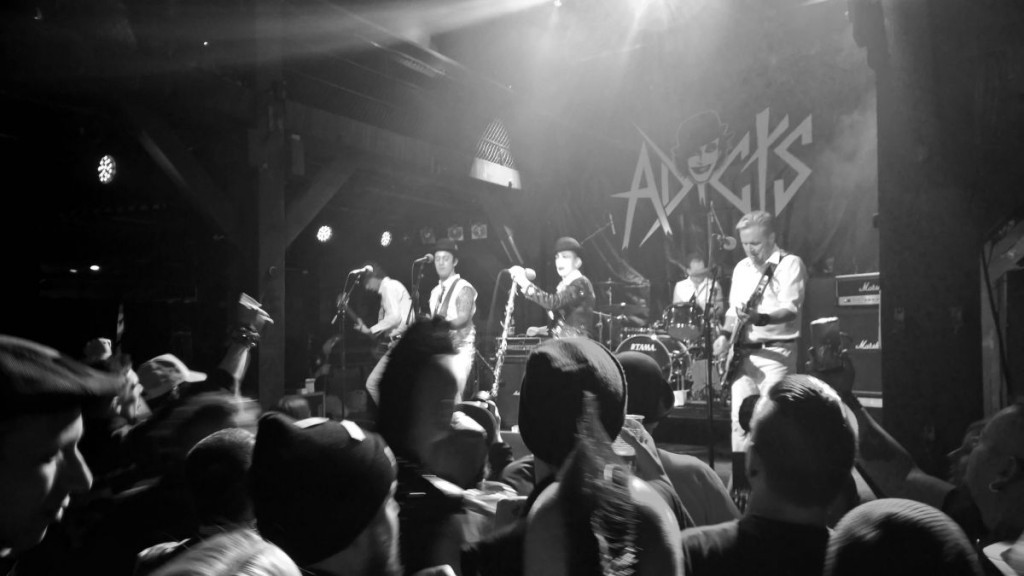 The Adicts (Fabrik Hamburg, 28.11.2015 (c) gehkacken.de)