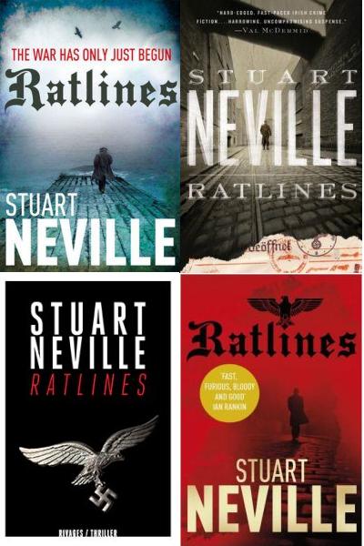 Suart Neville - Ratlines (2013, alternate covers)