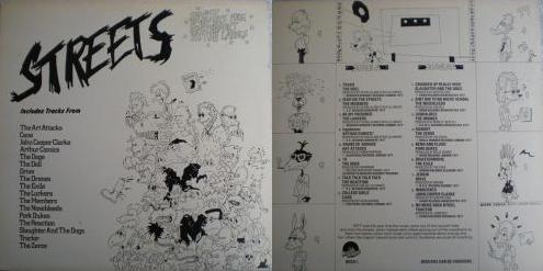 V/A - Streets (Beggars Banquet BEGA 1, 1977)