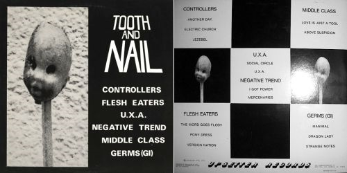 V/A - Tooth and Nail (Upsetter Records UP WR 1&2, 1979)