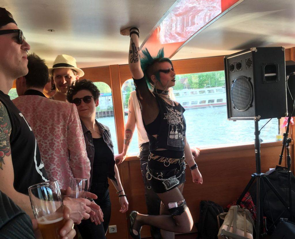 Soo Catwoman (MS Stralau, Berlin 08.05.2016 (c) gehkacken.de)