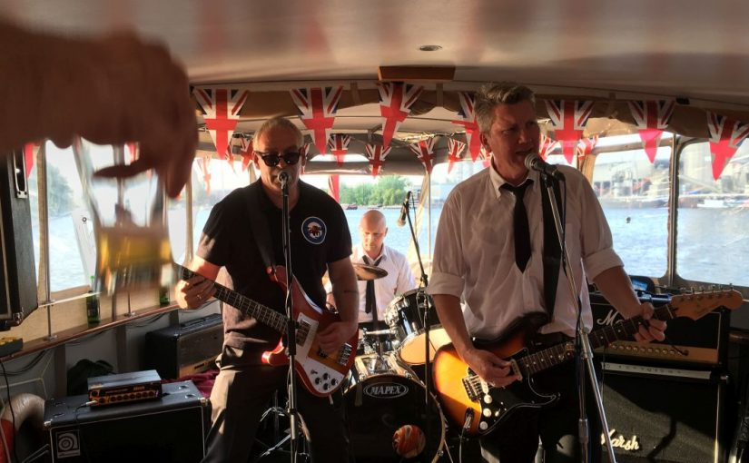… taking a cruise in Berlin with the Sex Pistols and The Jam – What an EXPERIENCE!