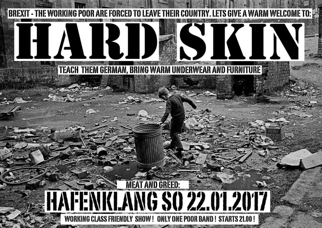 Hard Skin Flyer ( (c) Riebe 2017)