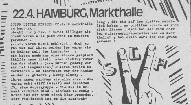 Willkürakt No. 4 (Fanzine from Hamburg, 1980)
