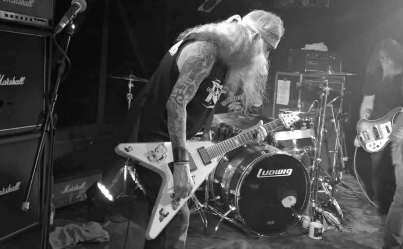 … the tale of the singer that can't be heard: Saint Vitus, 2017 edition!