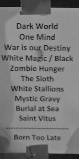 Saint Vitus - Set List (Hafenklang, Hamburg, 10.05.2017)