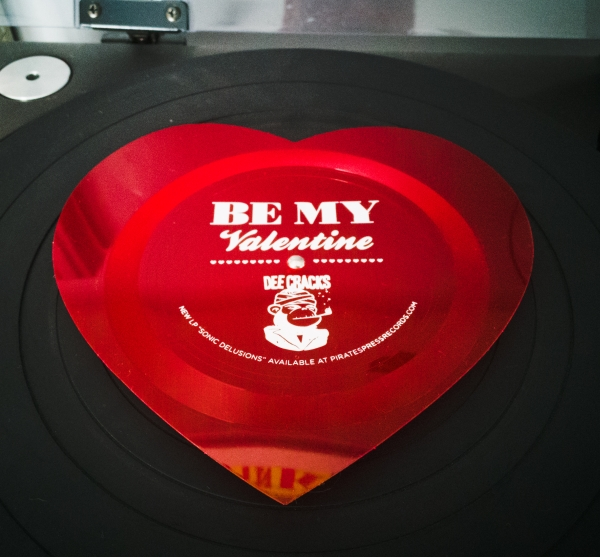DeeCracks Valentine Record - a 2€ bargin!