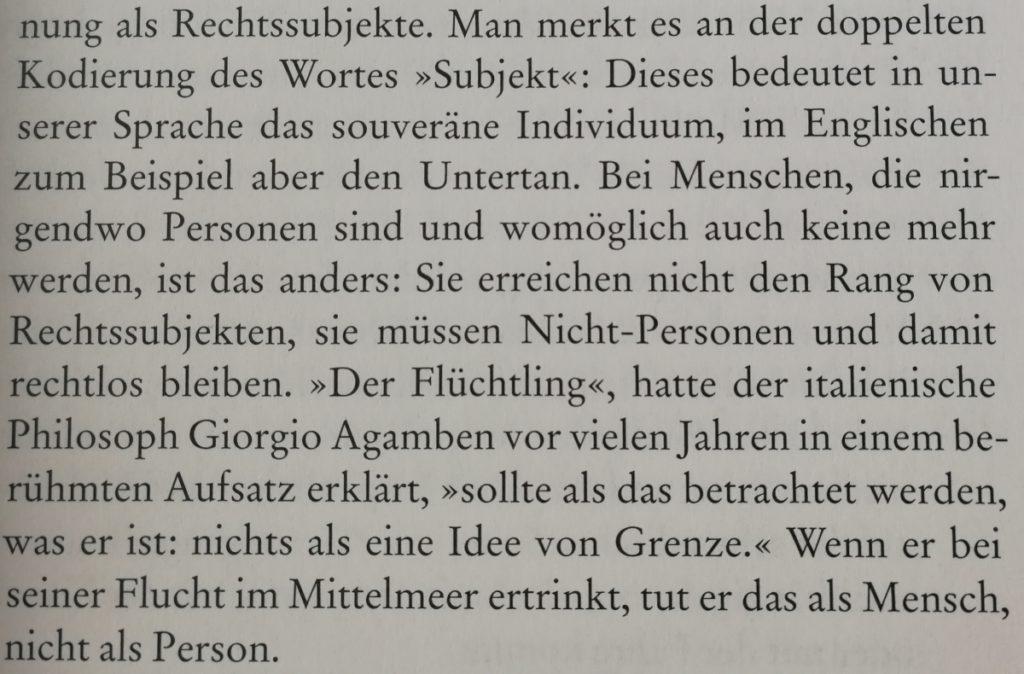 Deutsche Grenzen ( (c) 2018 Die Andere Bibliothek)