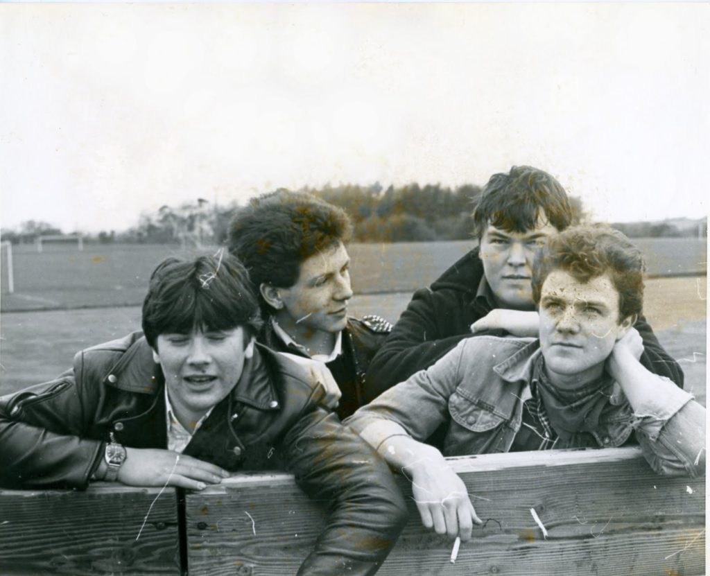ACME MUSIC (front left: Stuart Bailie)