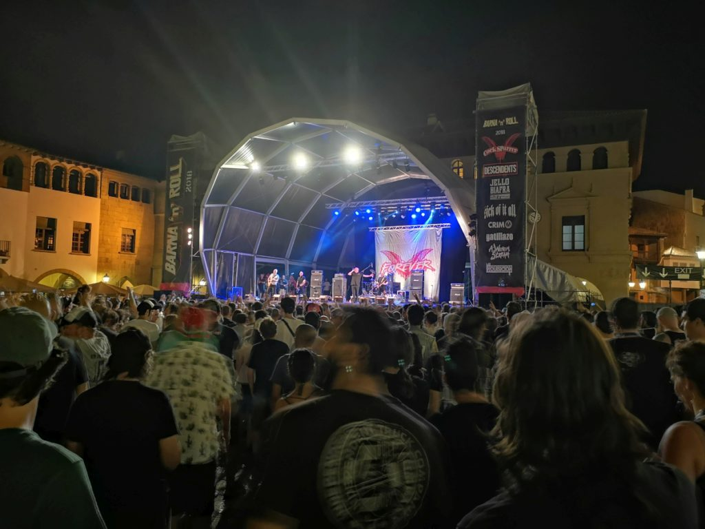 Cock Sparrer (Barna'n'Roll 2018, Poble Espanyol, Barcelona, 14.07.2018)