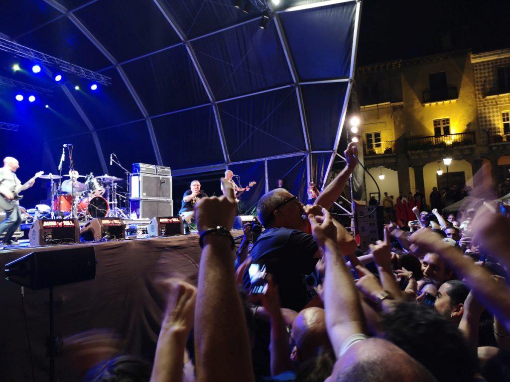 Milo in the pit (Barna'n'Roll 2018, Poble Espanyol, Barcelona, 14.07.2018)