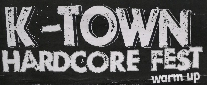 … opvarmning til K-Town Hardcore fest: DIY H/C regler!