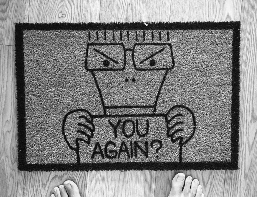 Milo Doormat (limited edition #1/1)