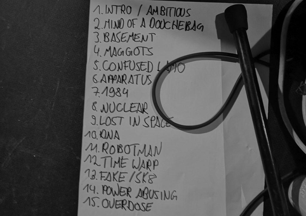 The Haermorrhoids - Setlist (Hafenklang, Hamburg, 10.10.2019)