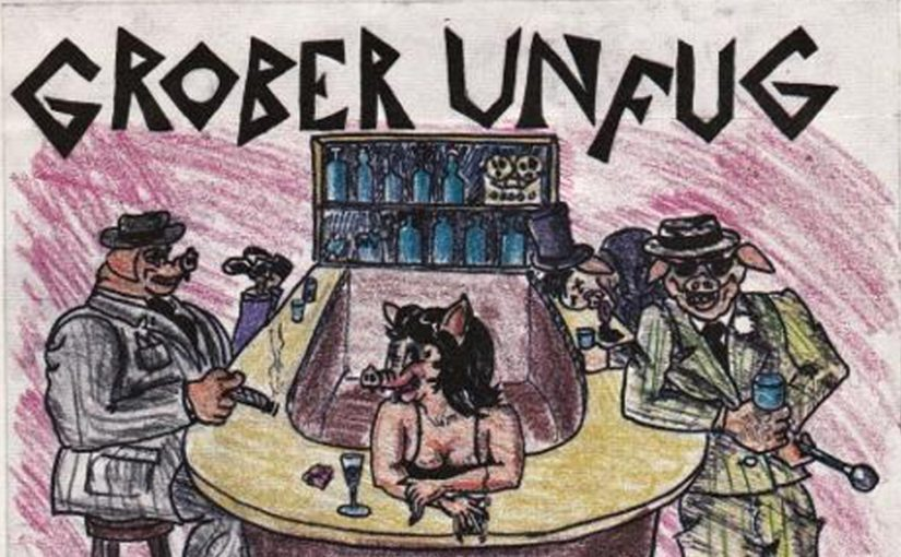 … blast from the past ctd: Grober Unfug!