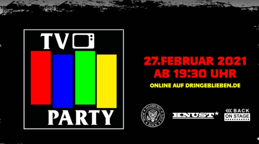 TV PARTY – Ein Kessel Punk